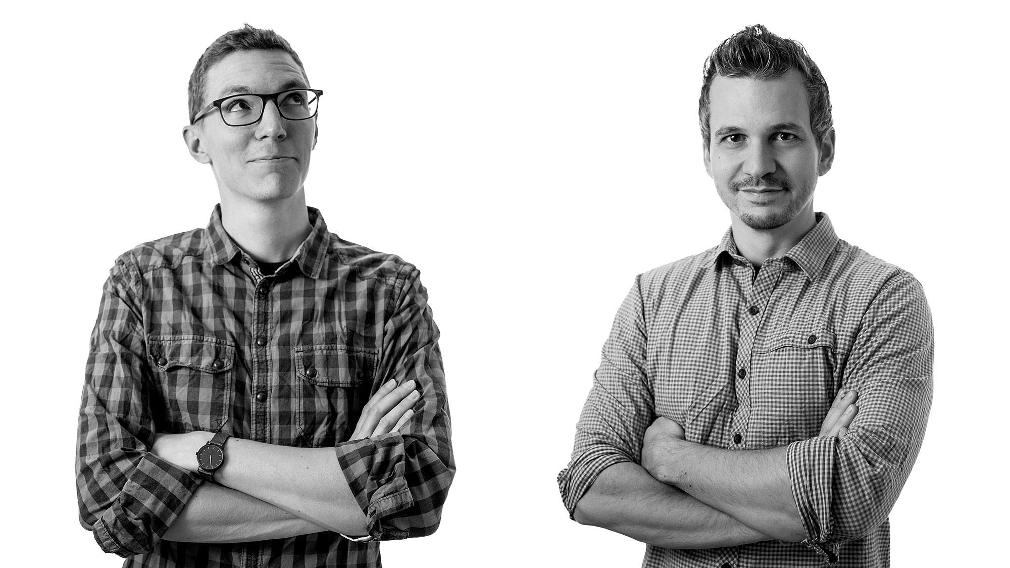 Claudio Rimann und Florian Ziegler